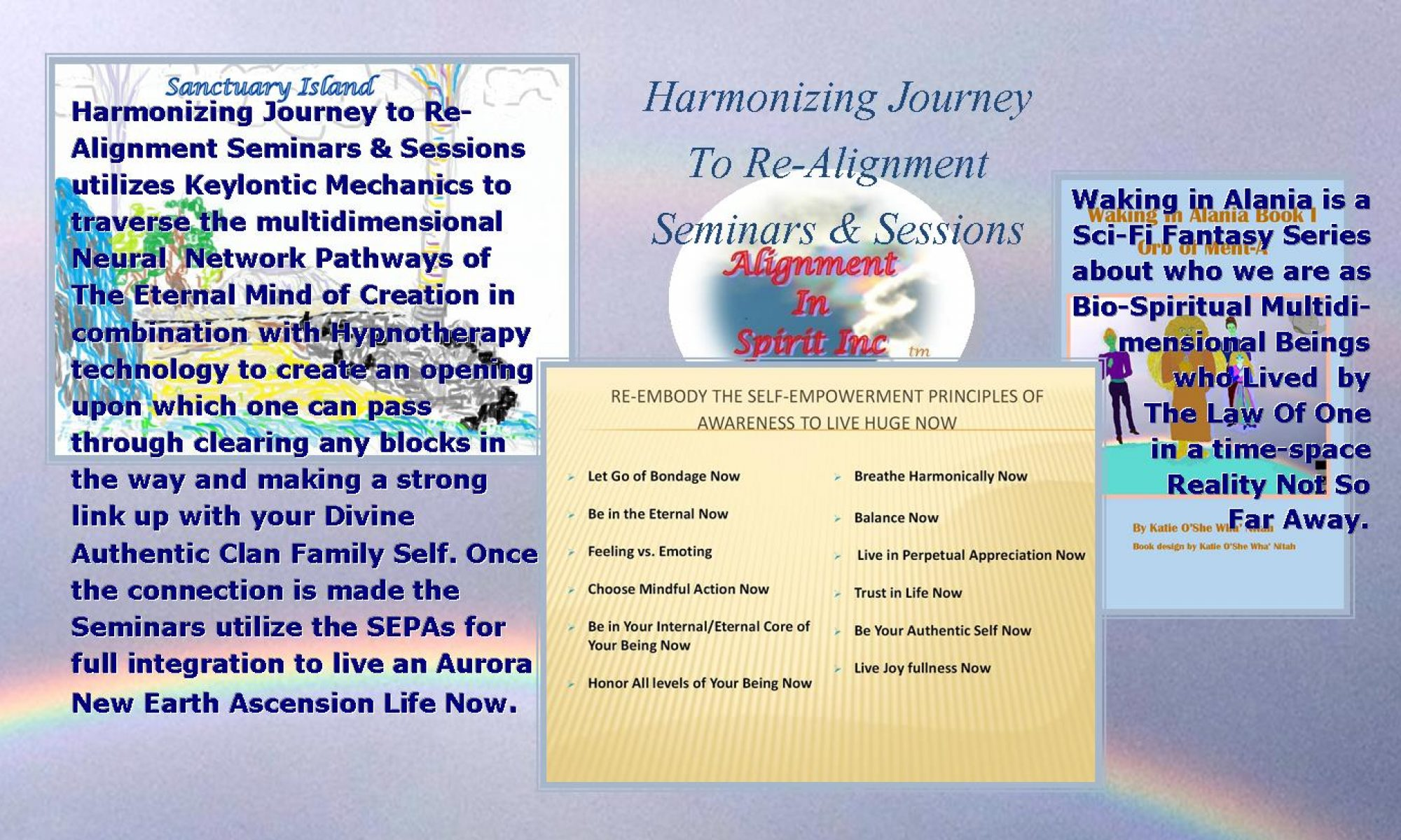 Harmonizing Journey to Re-Alignment Seminars  and Sessions
